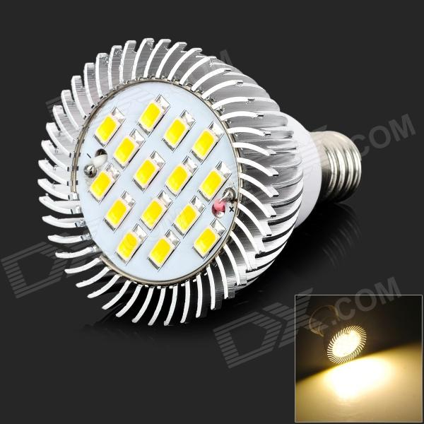 lexing LX-SD-060 E14 6W 400lm 3500K 15-5730 SMD LED Warm White Light Spotlight (AC 220~240V) lexing lx qp 20 e14 6w 470lm 3500k 15 5730 smd led warm white light dimmable lamp ac 220 240v