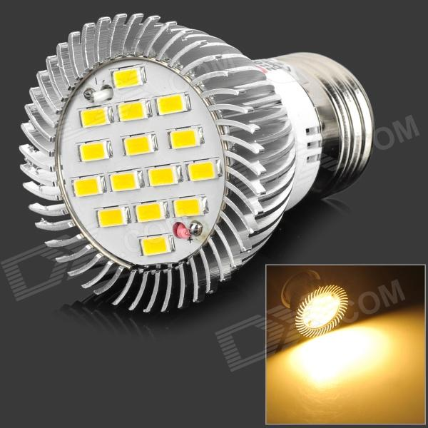 lexing lexing E27 6W 400lm 3500K 15-5730 SMD LED Warm White Light Dimmable Spotlight (AC 220~240V) gu10 3w 250lm 6000k 9 5730 led white light spotlight cup white ac 100 240v