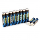 EXCELL 1.5V AAA Alkaline Battery - Black + Blue (10 PCS)