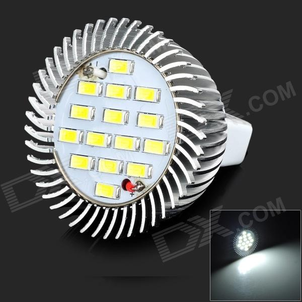 lexing LX-SD-062 GU5.3 6W 420lm 7000K 15-5730 SMD LED White Light Spotlight (DC 10V) lexing lx qp 20 e14 6w 470lm 3500k 15 5730 smd led warm white light dimmable lamp ac 220 240v