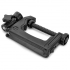 Praktisk Multifunksjonell Mini ABS + Stainless Steel Tripod Clamp - Svart
