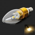 LeXing LX-LZD-4 E14 3W 200lm 3500K 6-SMD 5730 LED Warm White Light Bulb (85~265V)