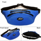 LKLR SPO-6603 Outdoor Waterproof Nylon Waist Bag - Blue