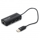 Green Connection 20264 3-Port USB 2.0 Hub - Black