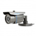 "YanSe YS-867CCB 1/4"" CMOS 700TVL Outdoor CCTV Camera w/ IR-Cut / 24-LED Night Vision - Grey"
