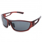 OSSAT 99357 Stylish Sports Polarized Sunglasses - Wine Red