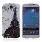 Paris Eiffel Tower Pattern Protective TPU Back Case for Samsung Galaxy S4 i9500 - Multicolored