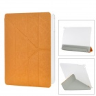 Transformable Protective PU Leather + Plastic Case for IPAD AIR - Orange
