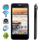 "CUBOT P5 Dual-Core Android 4.2.2 WCDMA Bar Phone w/ 4.5"" IPS, GPS and Dual-SIM - Black"