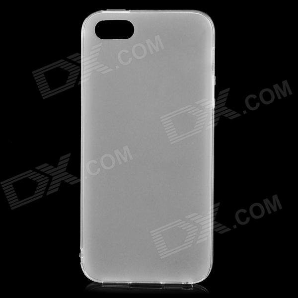 все цены на  S-What Protective Frosted TPU Back Case for IPHONE 5 / 5S - Translucent White  онлайн