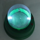 Automatic Dice Cup w/ 2-LED - Green + Transparent (5-Dice)