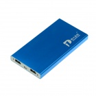 ZHILIPINYANG PY-8108 10000mAh Dual USB Mobile Power Source for IPHONE / MP3 / MP4 / PSP - Blue