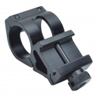 25mm Aluminum Alloy Gun Barrel Laser / Flashlight Mount - Black