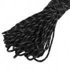 OUMILY Reflective Multi-Purpose Paracord Nylon Rope Cord - Reflective Black (30m / 140KG / 2 PCS)