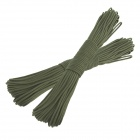 OUMILY Military Army Survival Parachute Rope - Army Green (30M / 140KG / 2 PCS)