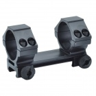 30mm Q30 calibre en forma de U de aleación de aluminio Soporte Dual-Scope Mount w / Hex Wrench - Negro