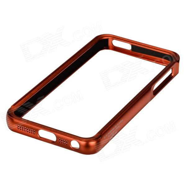 Zomgo Stylish Protective Aluminum Alloy Bumper Frame for IPHONE 5 / 5S - Coffee Golden