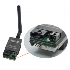 TS800 5.8G 1.5W 32CH Double Audio Channel Wireless AV Transmitter Module - Black + Green