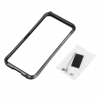 Stylish Protective Pretty Waist Style Aluminum Alloy Bumper Frame Case for IPHONE 5 / 5S - Black