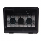 "Shunzhan N92 USB 2.0 Cooling Pad 2-Fan Cooler for 14""~15"" Notebook / Laptop - Black"