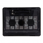 "Shunzhan N92 USB 2.0 Cooling Pad 2-Fan Cooler pour 14 ""~ 15"" notebook / ordinateur portable - noir"