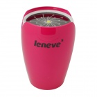 Leneve Tulip Style 7800mAh Multifunctional Mobile Power Source Supply for IPHONE + More - Deep Pink