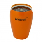 Leneve Tulip Style 7800mAh Multifunctional Mobile Power Source Supply for IPHONE - Orange Yellow