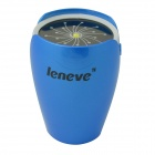 Leneve Tulip Style 7800mAh Multifunctional Mobile Power Source Supply for IPHONE + More - Light Blue