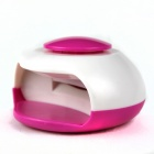 Nail Care Dryer - White + Deep Pink