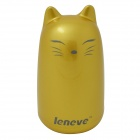 "Leneve Fox Style ""2600mAh"" Mobile Power Source Bank for IPHONE / Samsung + More - Golden"