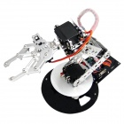 Robotbase RB-13K045 AS-6DOF Electronic Control Aluminum Alloy Mechanical Arm - Black + Silver