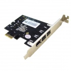 IOCREST MM-PCE2213-2B1A Combo 2 x1394b + 1 x 1394a Firewire Ports PCI-Express Controller Card