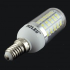 HZLED E14 7W 770lm 80-SMD 2835 LED Cold White Light Bulb (85~265V)