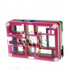 PI02 Protective 9-Layer Acrylic Case Enclosure Box for Raspberry PI - Transparent + Multicolored