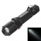 A1 180-200lm 6000K White Light Flashlight - Black (1 x AAA Battery )
