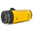 Likon 6X 16MM Mini High Definition LLL Night Vision Monocular Telescope - Yellow + Black