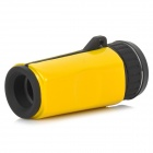 Likon Mini 6X 16mm High Definition Monocular Telescope - Yellow + Black