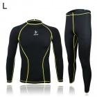 ARSUXEO ARC09-1 Outdoor Cycling Elastic Polyester Long-Sleeve Shirt + Pants (Size L)