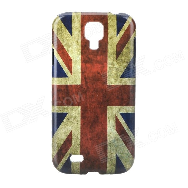 Retro Style UK Flag Pattern Back Case for Samsung Galaxy S4 i9500 - Red + Blue + Multi-Colored аксессуар защитное стекло samsung galaxy s8 plus onext 3d gold 41266