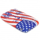 Scrawl American Flag + Statue of Liberty Pattern PVC Protective Back Case for IPHONE 3G / 3GS