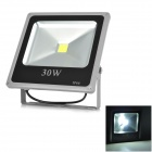 LeXing LX-TGD-5 30W 1900lm 7000K LED White Spotlight w/ Stand - Black + Silver Grey (85~265V)