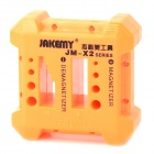 JAKEMY JM-X2 Magnetizer/Demagnetizer - Orange + Black + Multi-Colored