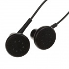 KEENION KDM-E28 Stylish In-Ear Stereo Earphone - Black (135cm-Cable / 3.5mm Plug)