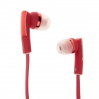 KEENION KDM-E810 Stylish Stereo Bass In-Ear Earphones - Red (120cm-Cable / 3.5mm Plug)