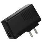 Universal USB 5V 2A US Plug Power Adapter for IPHONE / Samsung / IPAD / IPOD / HTC - Black