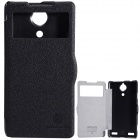 NILLKIN Protective PU Leather + PC Case Cover for Nubia Z5S - Black