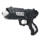 M02 Cool PC BB Guns Toy + Sponge Bullets Set - Black + Light Grey