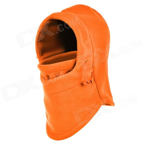DG DG0774 Outdoor Cycling Warm Fleeces Hat / Face Cover for Women - Orange