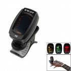 SWIFF A8 clip-on mini-tuner - svart (1 x CR2032)