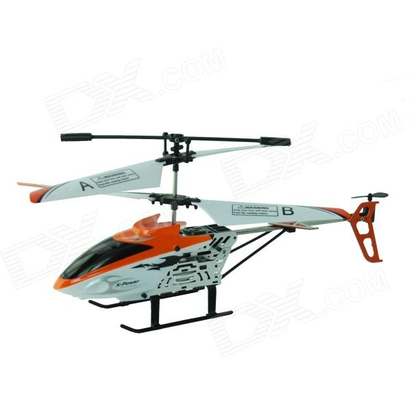 Xinhangxian S039G 3.5-CH Rechargeable R/C Helicopter w/ Gyro - Orange + White + Black r b parker s the devil wins